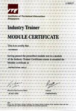 Industry Trainer Instructional Skills